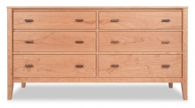 Dresser 6 drawer Horizon Cherry