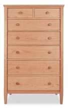 Chest 7 Drawer Shaker Cherry