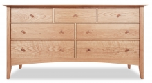 Dresser 7 Drawer Canterbury Cherry