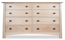 Dresser 8 Drawer Harvestmoon Maple