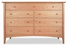 Dresser 9 Drawer Canterbury Cherry