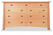 Dresser 9 Drawer Harvestmoon cherry