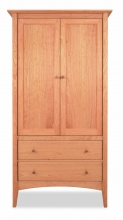 Armoire 2 Drawer Canterbury Cherry