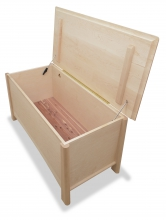Blanket Chest Harvestmon Maple open