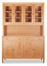 China Cabinet 1 and Buffet 1 Shaker-Cherry