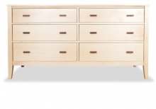 Dresser 6 Drawer Maple Horizon