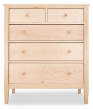 Chest Shaker 5 Drawer Maple