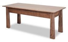 Bench Harvestmoon Walnut angle
