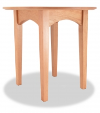 End Table Canterbury Cherry round angle