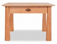 End Table with Drawer Harvestmoon Cherry Detail 1