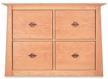 Credenza Harvestmoon 4 Drawer Cherry