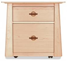 Credenza Harvestmoon 1 File Drawer 1 Storage Drawer Maple