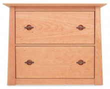 Credenza Lateral File 2 Drawer no Castors Harvestmoon Cherry
