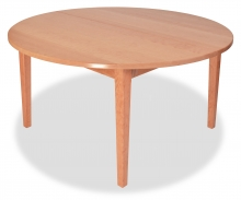 Table Round Extension Shaker Cherry