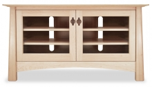 Harvestmoon TV Console 1 with Glass Doors Maple