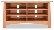 TV Console  Harvestmoon 1 with Shelves Cherry