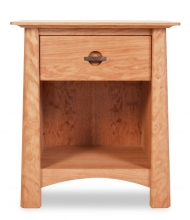 Nightstand 1 Drawer Harvestmoon Cherry