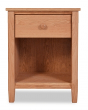 Nightstand Shaker 1 Drawer Cherry