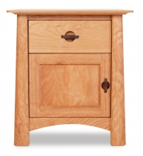 Nightstand 1 Drawer with Door Harvestmoon