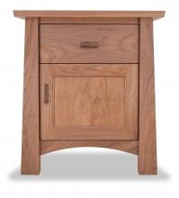 Nightstand 1 drawer Gamble Walnut