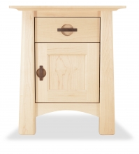 Nightstand Harvestmoon Maple with door