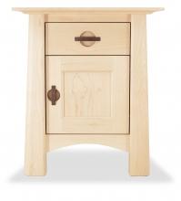 Nightstand Harvestmoon Maple with door