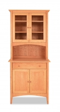 China Cabinet and Buffet 3 Canterbury Cherry