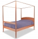 Pencil Post Bed Shaker angle with Canopy