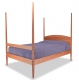Shaker Pencil Post Bed angle