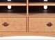 TV Console 1 with Drawers Harvestmoon Cherry a